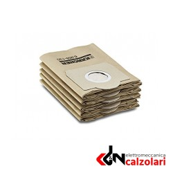 Sacchetti filtri in carta 5 pezzi | Elettromeccanica Calzolari