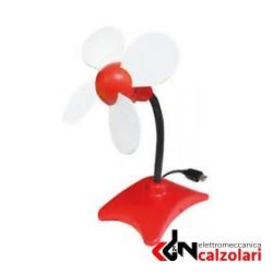 Ventilatore flower con alimentazione USB | Elettromeccanica Calzolari