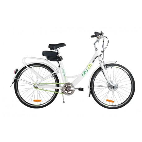 Bicicletta elettrica a batteria CITY26 Hinergy Bikes