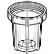 """Vaso 205SD GF 5"""" SLIM ricambio"""