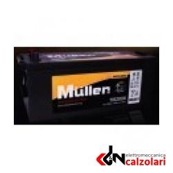 Batteria auto 62ah MÜLLER bassa DX