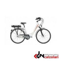 """Bicicletta elettrica VENTO 26"""" unisex.nero satinato."""