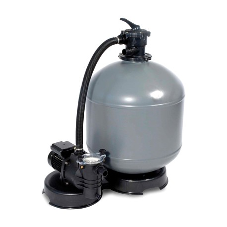 Filtro monoblocco D.400 con pompa HP0.50 6 mc/h