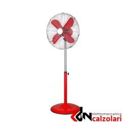 ventilatore a piantana CROMO 40 ROSSO CFG