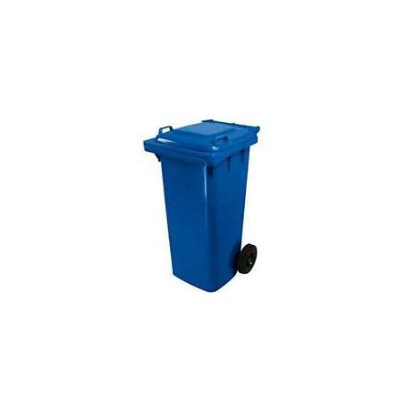 BIDONE PER RACCOLTA DIFFERENZIATA BLU 120lt