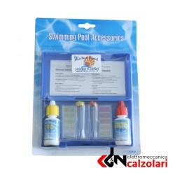 Test kit cloro-PH in gocce in blister Waterline