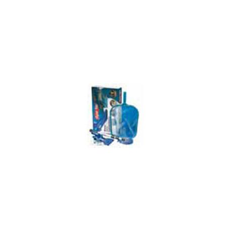 Aspirafango venturi supa vac on manico all, sacca raccogli sporco e tubo scarico acqua Waterline