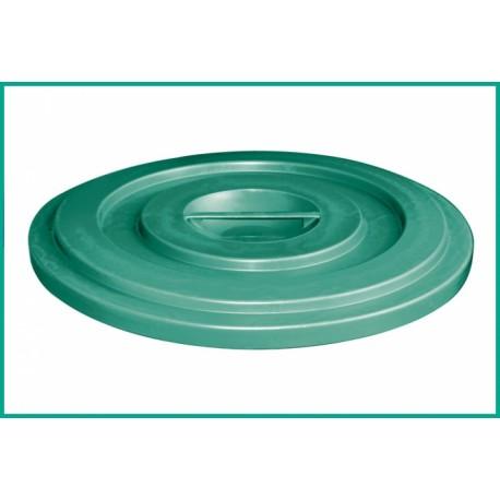Coperchio bidone industriale 100Lt verde