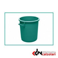 Bidone industriale MOBIL PLASTIC verde 50lt