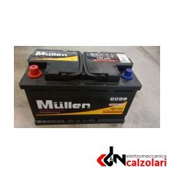 Batteria auto MULLER 100AH SX