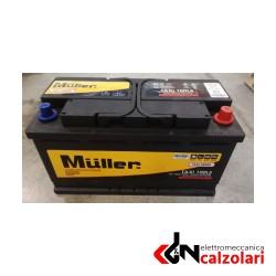 Batteria auto 100ah 850A MÜLLER DX