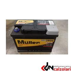 Batteria auto MULLER 80AH