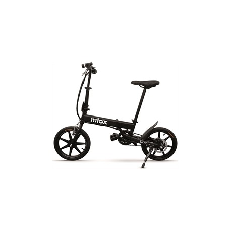 Bicicletta elettrica pieghevole NILOX_DOC E-BIKE X2 nera