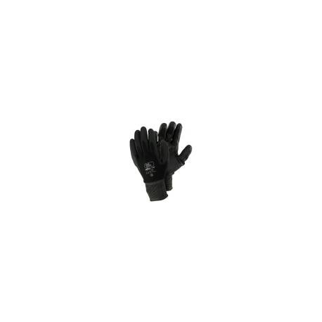 Guanto maglia Nylon Spalmato Nero