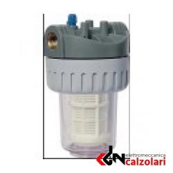 """kit filtro 305-d 5"""" 60 micron attacco 1"""""""