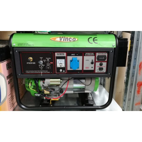 Generatore GPL 1.8KW Vinco monofase avv.elettrico