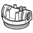 """Testata per serie 205/210/220 inserto diametro 1""""GF"""