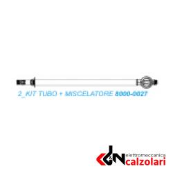 kit tubo + miscelatore per doccia sunny ex 8000.0021 ex 4000.1812/1865