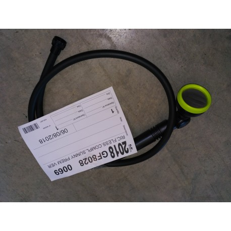 Kit tubo flessibile + doccetta verde Sunny Style Premium 5524 GF