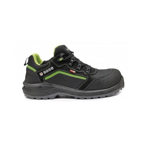 SCARPE BE-POWERFUL S3 WR SRC BS NERO/VERDEFLUO TG.38