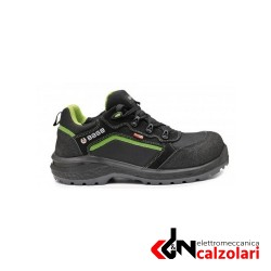 SCARPE BE-POWERFUL S3 WR SRC-BS NERO/VERDE FLUO TG.40