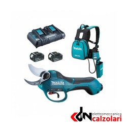 Cesoia Makita DUP361 a batteria +caricabatterie e 2batterie