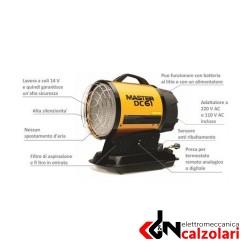 GEN. GASOLIO INFR. DC61 MASTER COMPLETO