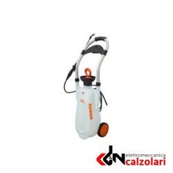 POMPA IRRORATRICE TROLLEY MANUALE C/SERBATOIO CARRELLATO 16LT