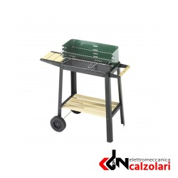 BARBECUE 50X25 GREEN