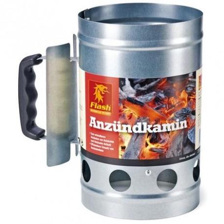 BBQ VULCANO Accendicarbonella inox