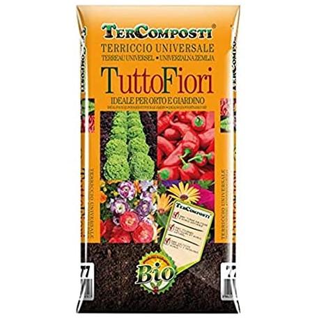 Terriccio TUTTOFIORI 45LT LINEA NATURA c/torba