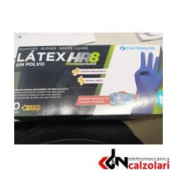 Guanti lattice doppio spessore tg.XL 50pz