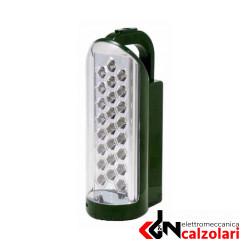 Lanterna Sirio 24Led Ricaricabile Funzione Black Out CGF