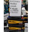 BATTERIA 100ah 850A MÜLLER DX