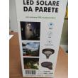 LED Solare da parete 1000lm crepuscolare + sensore PIR