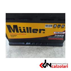 BATTERIA MULLER EFB80B BASSA (START-STOP)