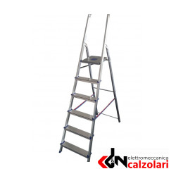 SCALA ALLUMINIO CASA PLUS 6 GR NEW