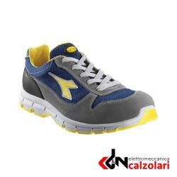 Scarpe Diadora Run textile colore Grigio castello/blu insegna
