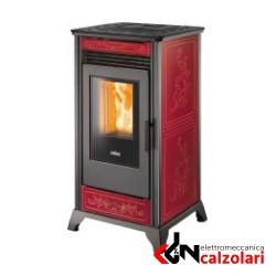 RV 80 Ravelli stufa a pellet Ventilata Ceramica 2,5-8kw