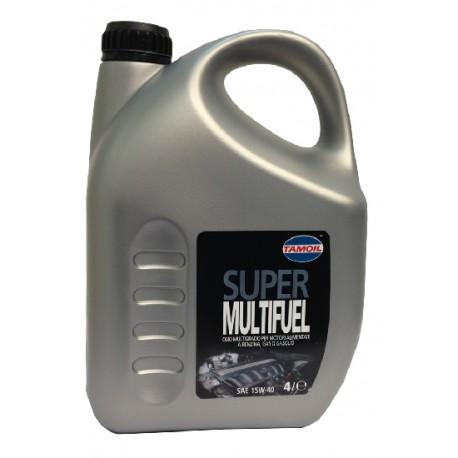 Lubrificante Lubex Tamoil multifuel 15W40 4L