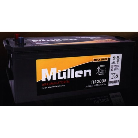 Batteria MULLER 140AH